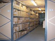 Silver Communications - Mezzanine level Storage