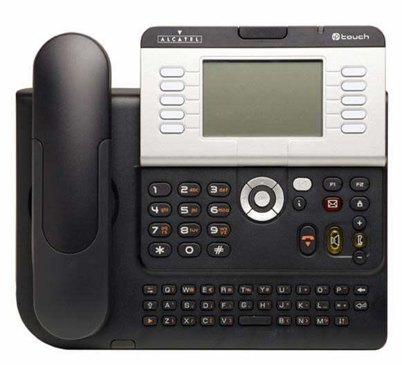 Alcatel 4038 Gigabit IP Phone