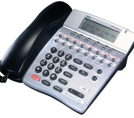 NEC ITR-16D-3A (BK) IP Phone