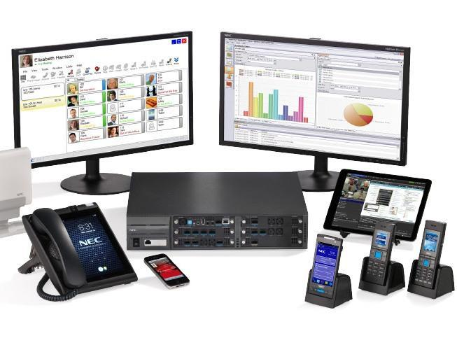 NEC SV9100 Phone System with 30 CH ISDN & 20 Phones