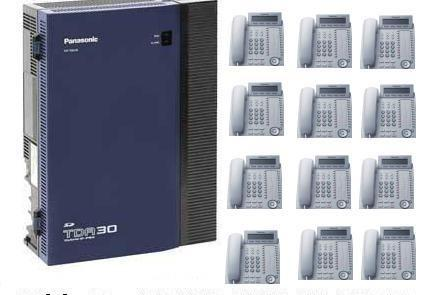 Panasonic Phone System Pack with 12 x KX-DT333 Phones