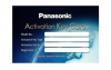 PANASONIC LICENSE