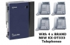 Panasonic Phone System Pack with 4 x BRAND NEW KX-DT333 Phones