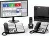 NEC SL1100 Phone System with 3 Phones